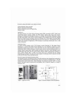 PULSE PLASMA SINTERING AND APPLICATIONS_CT VOL 209