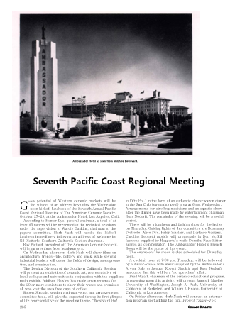 Pacific Coast Regional Meeting