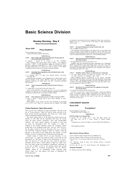 Basic Science Division