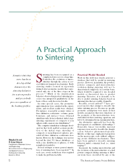 A practical approach to sintering