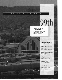 99th Annual meeting highlights