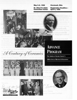 A century of ceramics advance program