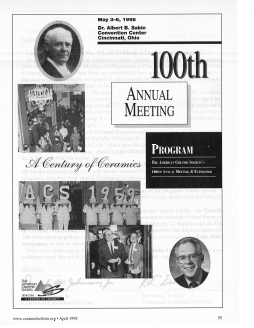 100th Annual Meeting program