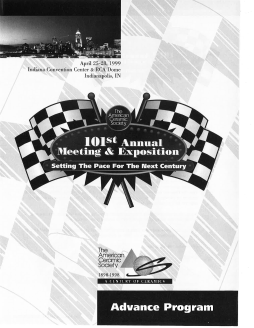 101st Annual Meeting & Exposition