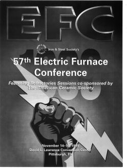 57th Electric Furnace Conference