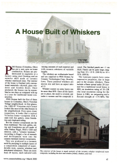A House Built of Whiskers