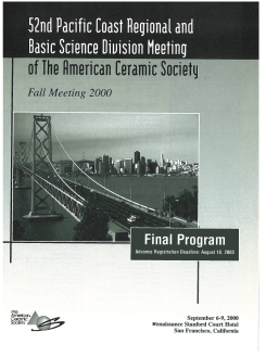 52nd Pacific Coast Regional and Basic Science Division Meeting
