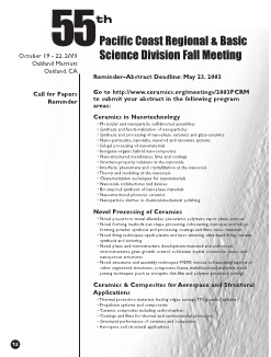 55th Pacific Coast Regional & Basic Science Division Fall Meeting