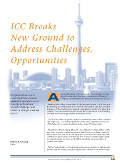 ICC Breaks New Ground to Address Challenges, Opportunities