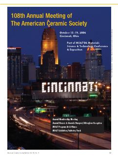 108th Annual Meeting of The American Ceramic Society