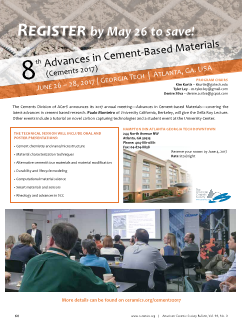 8th Advances in Cement-Based Materials