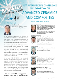 42nd International Conference and Expo on Advanced Ceramics and Composites
